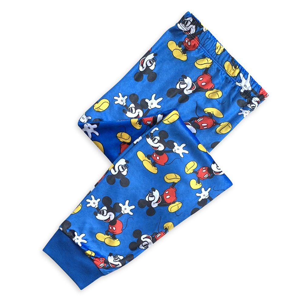 Mickey Mouse Fleece Pajama Set for Boys