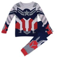 Captain America Costume PJ PALS for Kids – The Falcon and the Winter Soldier