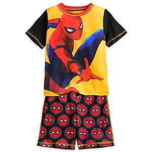 Spider-Man Short Sleep Set for Boys 4903057392085M