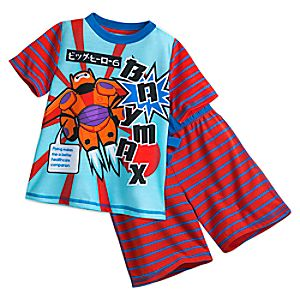 Baymax PJ PALS Short Set for Boys