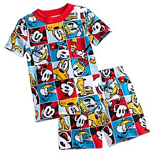 Mickey Mouse and Friends PJ PALS Short Set for Boys 4903057392089M