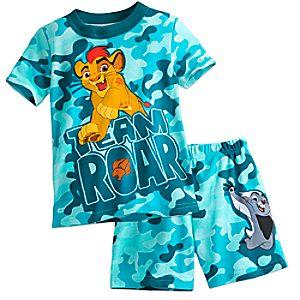 The Lion Guard PJ PALS Short Set for Boys 4903057392090M