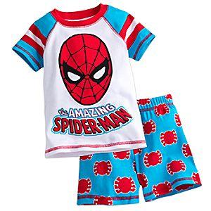 Spider-Man PJ PALS Short Set for Boys 4903057392092M
