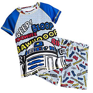 R2-D2 PJ PALS Short Set for Boys - Star Wars