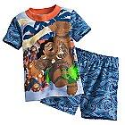 Maui and Kakamora PJ PALS Short Set for Boys - Disney Moana
