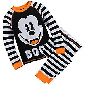 Mickey Mouse Halloween PJ Set for Boys
