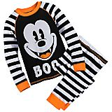 Mickey Mouse Halloween PJ Set for Boys