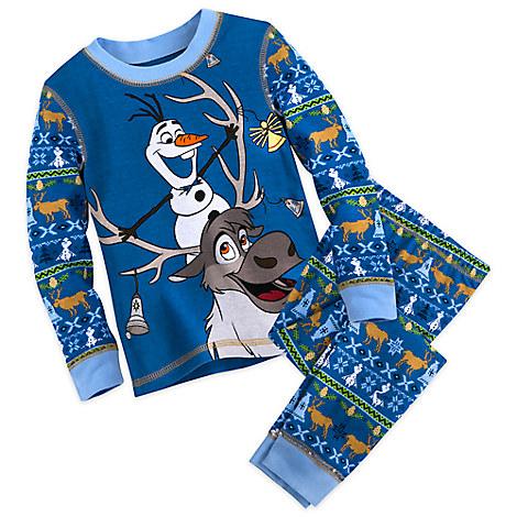 Olaf and Sven Pajama Set for Kids