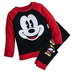 Mickey Mouse PJ Set For Kids 4903057392181M
