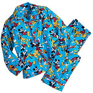 Mickey Mouse and Friends PJ Set For Kids 4903057392190M