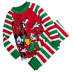 Mickey Mouse and Friends Holiday PJ Set for Boys 4903057392197M