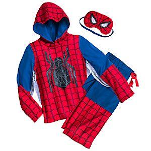 Spider-Man Deluxe Costume Sleep Set - Boys 4903057392214M