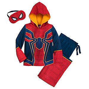 Spider-Man Glow-in-the-Dark Costume Sleep Set for Boys 4903057392275M