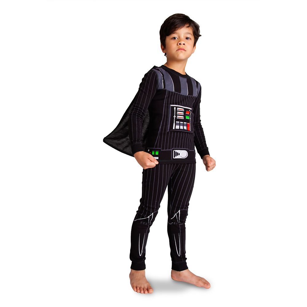Star Wars Darth Vader Lightsaber Dark Side 4-Piece Cotton Pajama Set