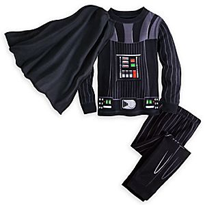 Image of Darth Vader Costume Pajamas for Boys
