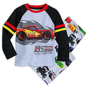 Image of Cars Pajama Set for Kids