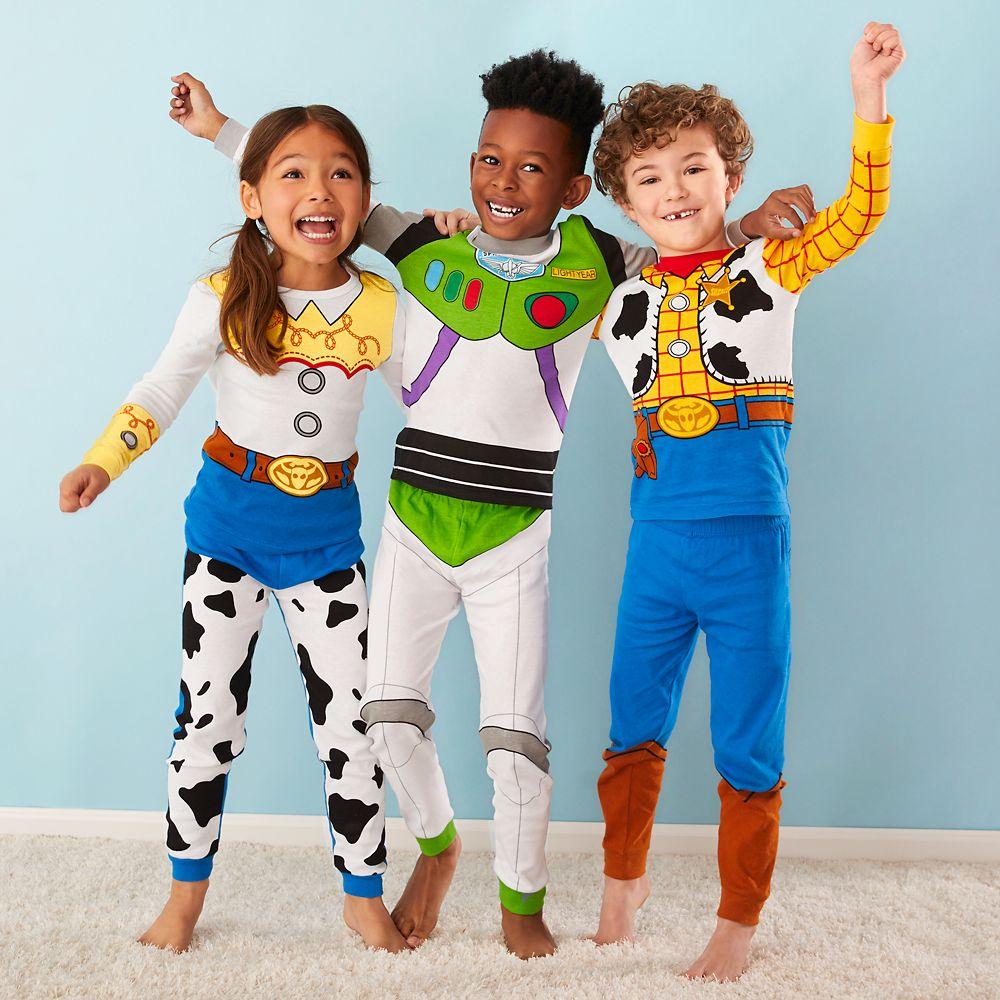 Disney Pixar Toy Story Buzz Lightyear Costume Boys Short Pyjamas