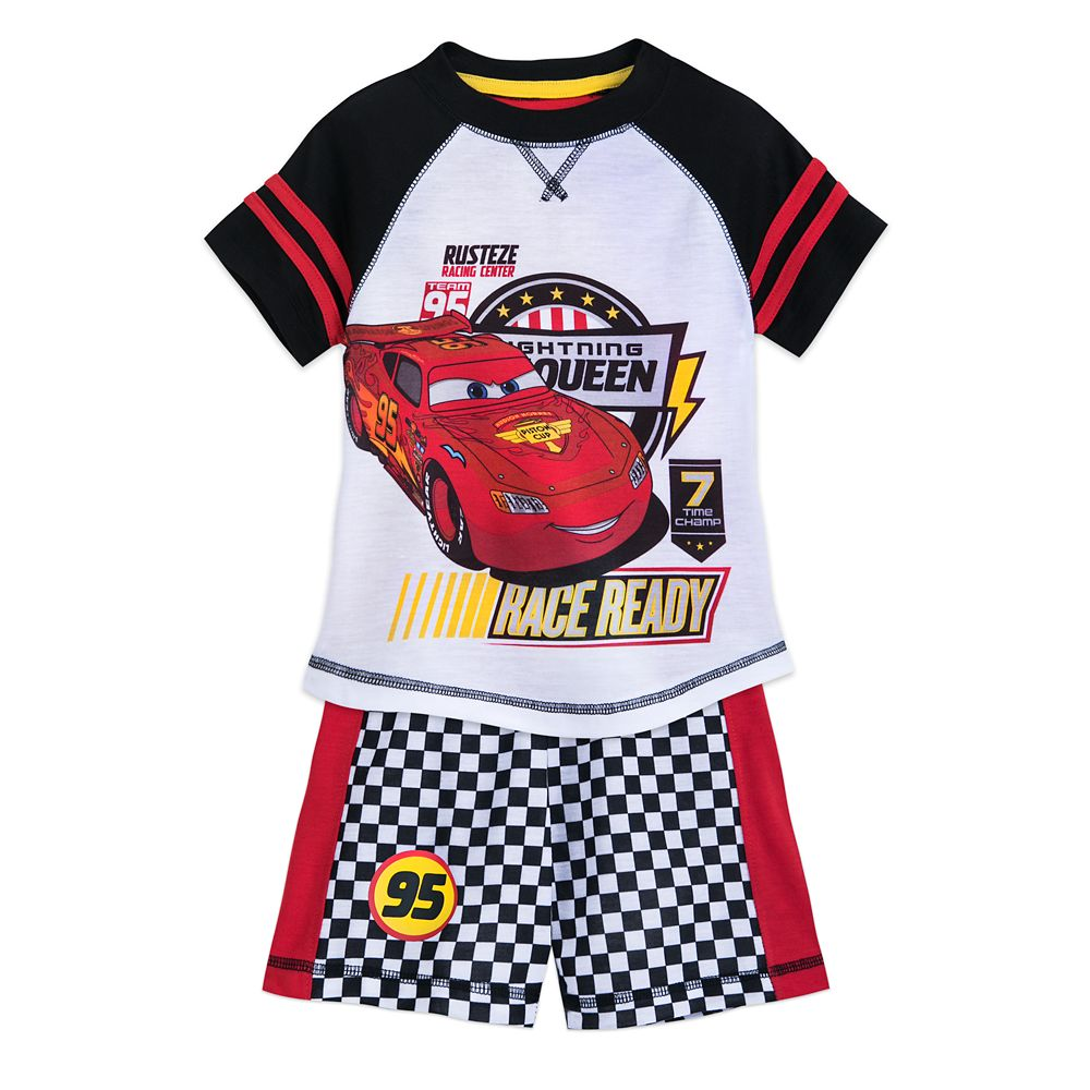 Cars Short Sleep Set for Boys