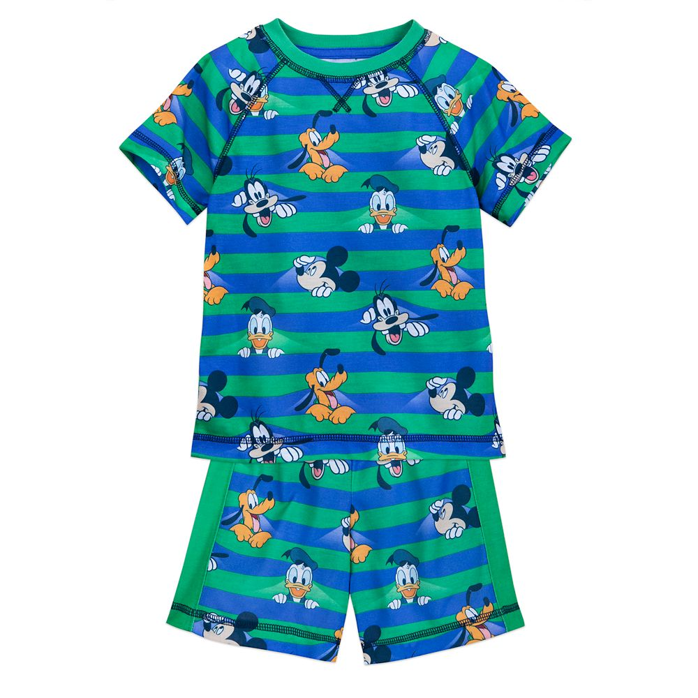 Mickey Mouse and Friends Short Sleep Set for Boys