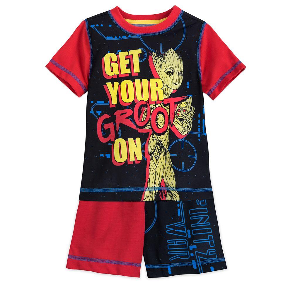 Groot Short Sleep Set for Boys Official shopDisney