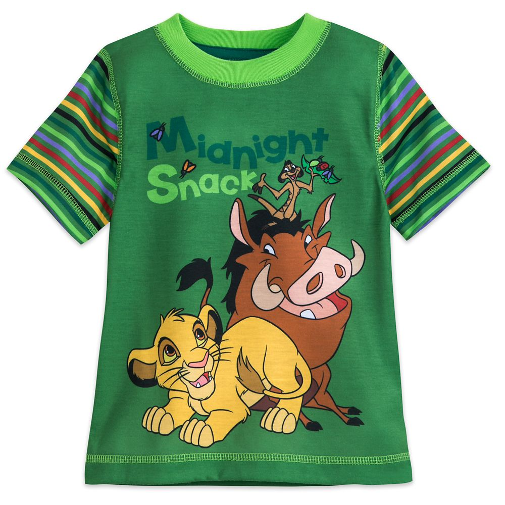 The Lion King Short Sleep Set for Boys