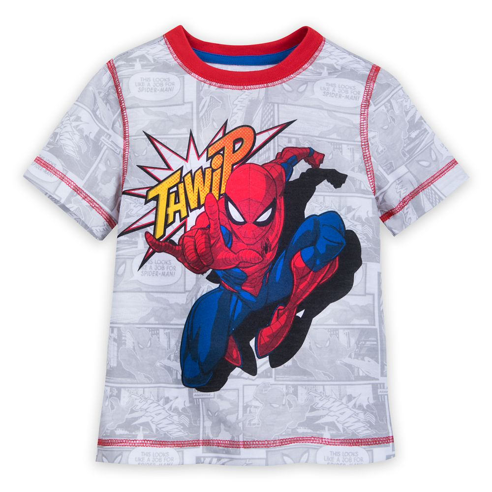 Spider-Man Short Sleep Set for Boys