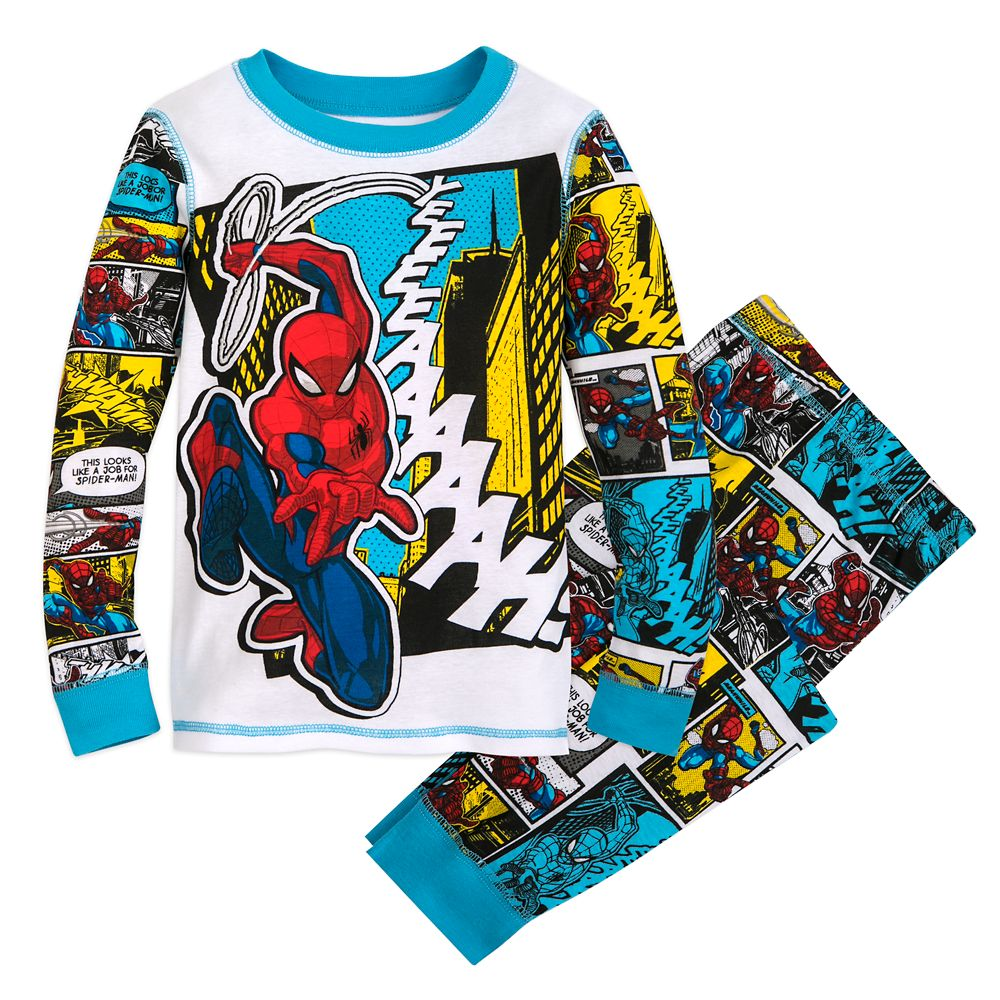 35 Amazing Marvel Gift Ideas featured by top US Disney blogger, Marcie and the Mouse: Spider-Man PJ PALS for Boys Official shopDisney