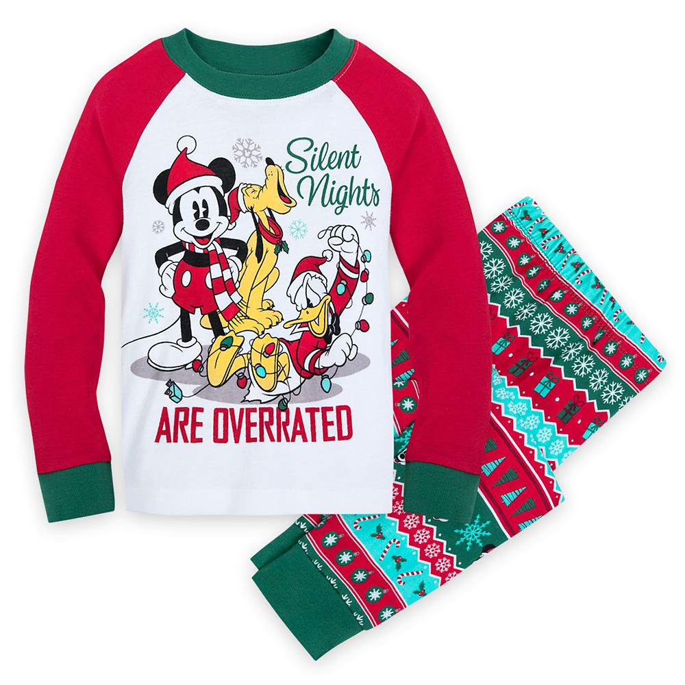 Mickey Mouse and Friends Holiday PJ PALS for Boys