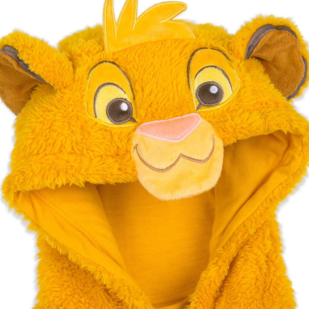 Simba Fleece Bodysuit Pajamas for Kids
