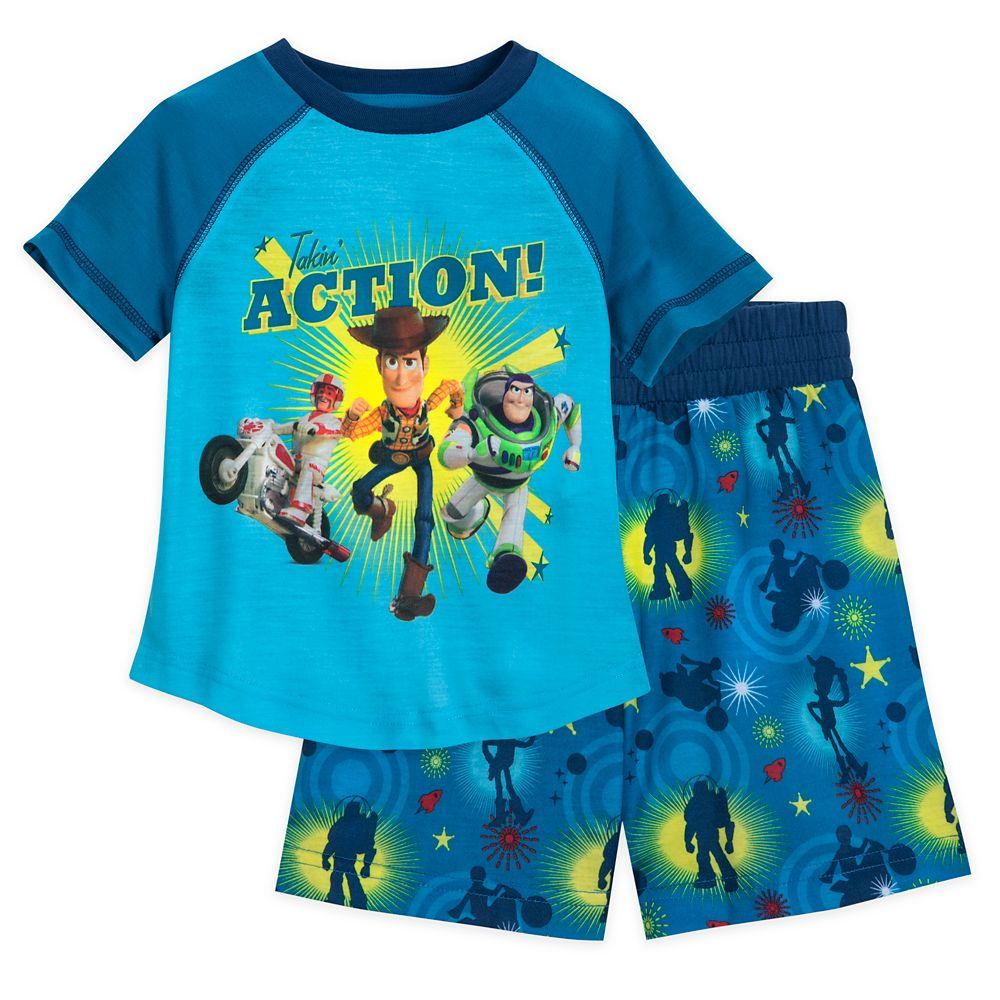 Toy Story Short Sleep Set for Boys