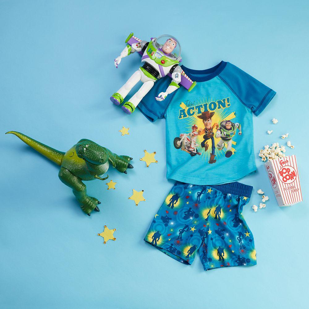Toy Story Short Sleep Set for Boys