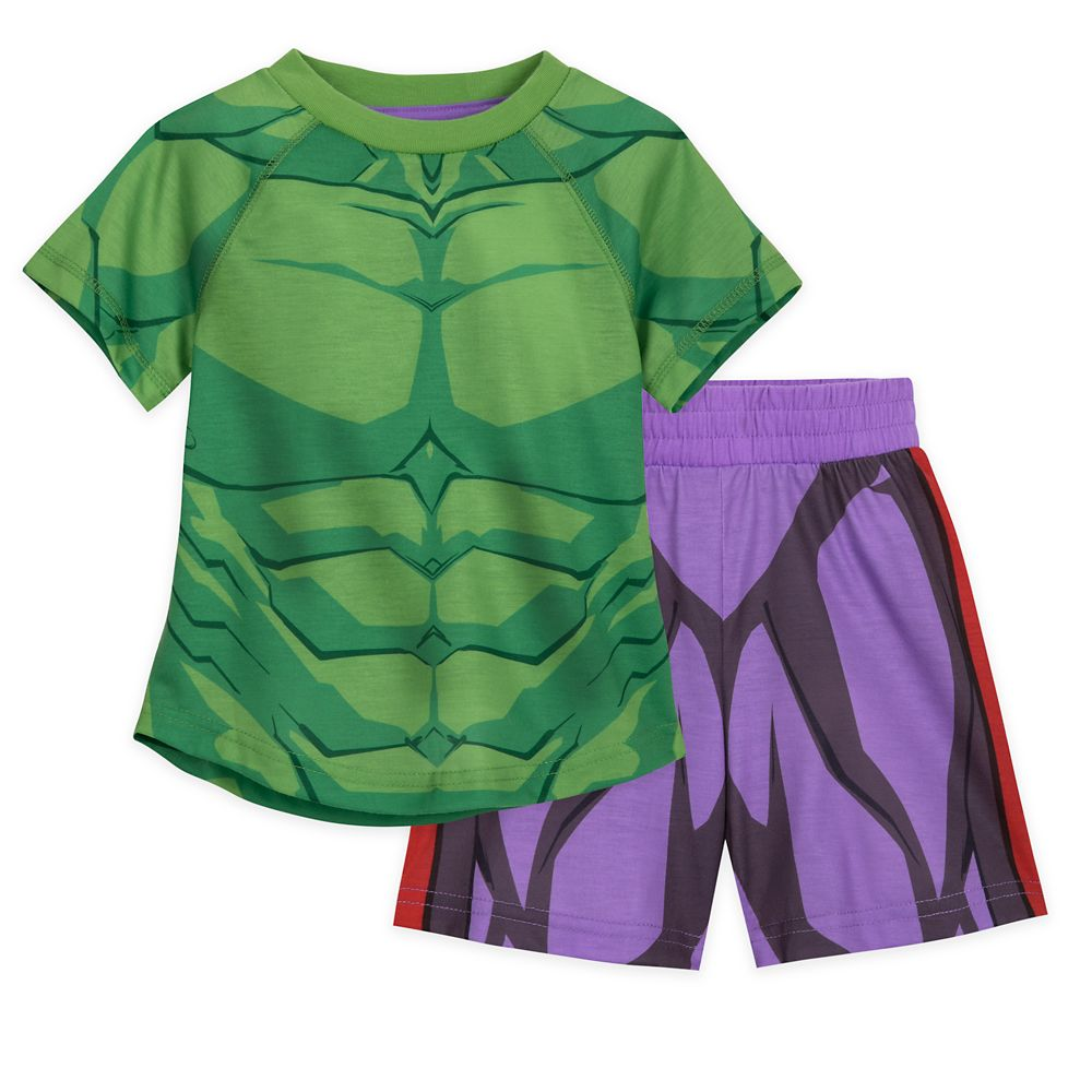Hulk Short Sleep Set for Boys