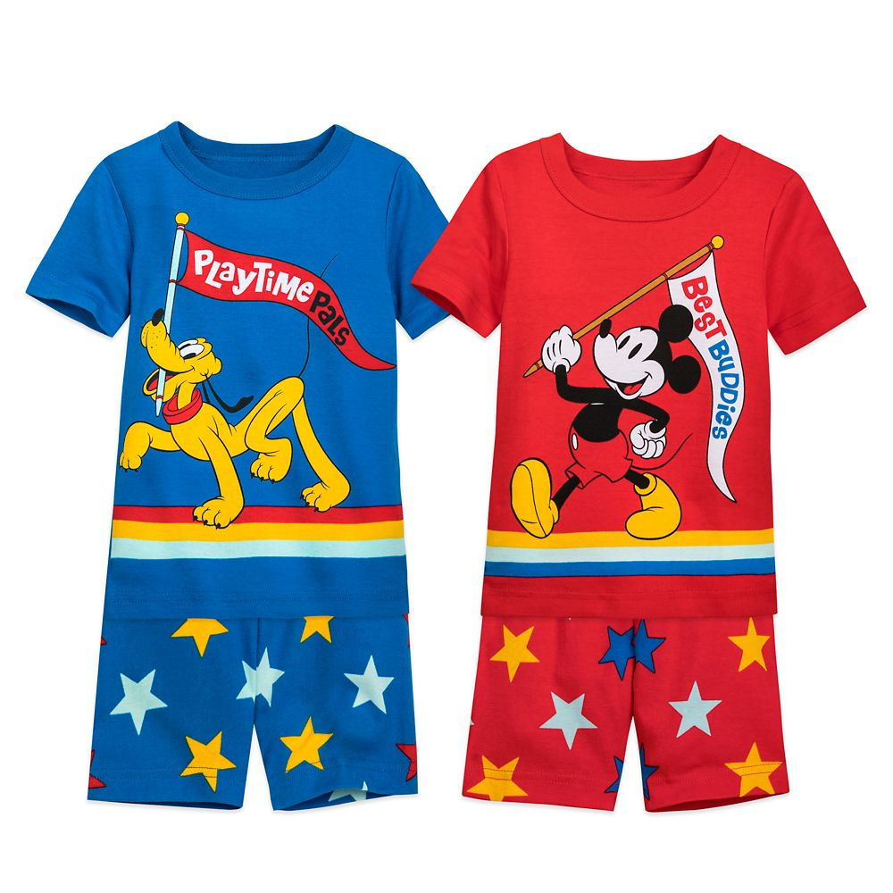 Mickey Mouse and Pluto PJ PALS Set for Boys