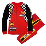 Lightning McQueen Pit Crew Costume PJ PALS for Kids – Cars