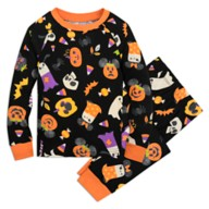 Mickey Mouse Pumpkin Halloween PJ PALS for Kids