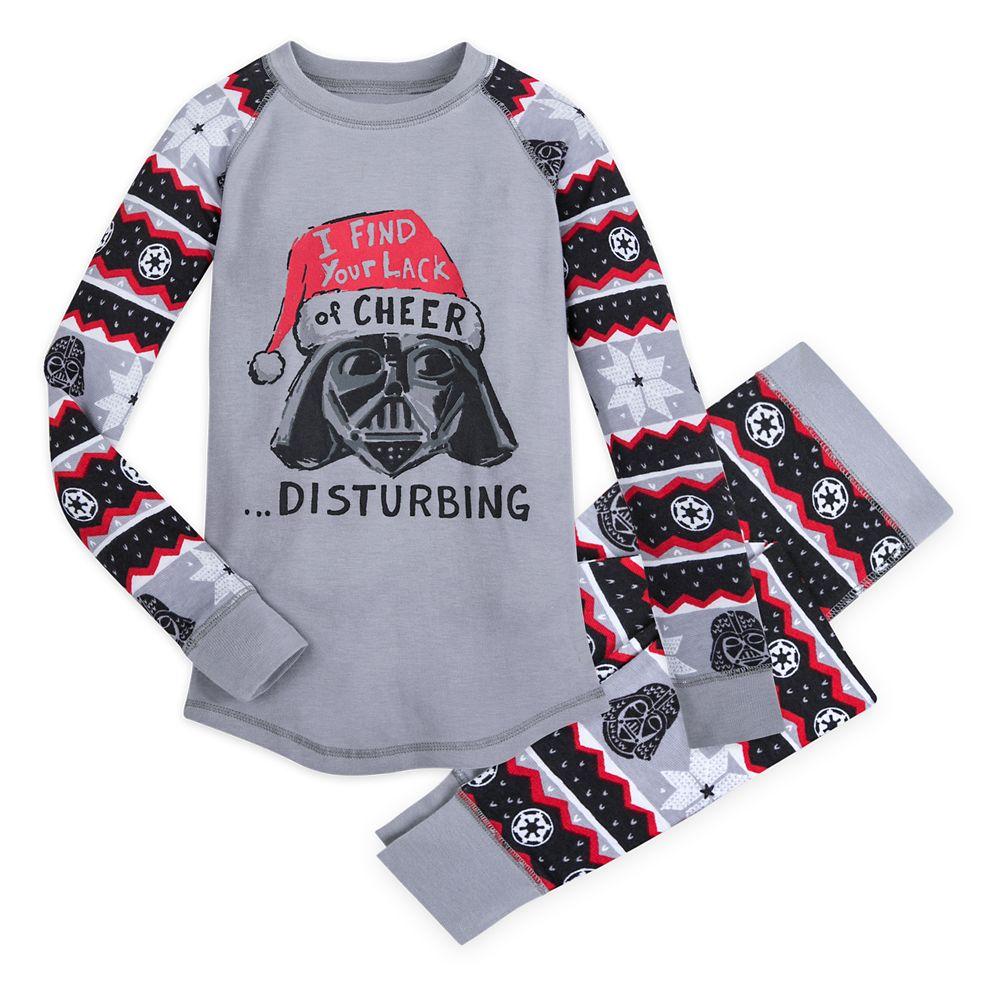 Darth Vader Holiday Pajama Set for Kids by Munki Munki – Star Wars