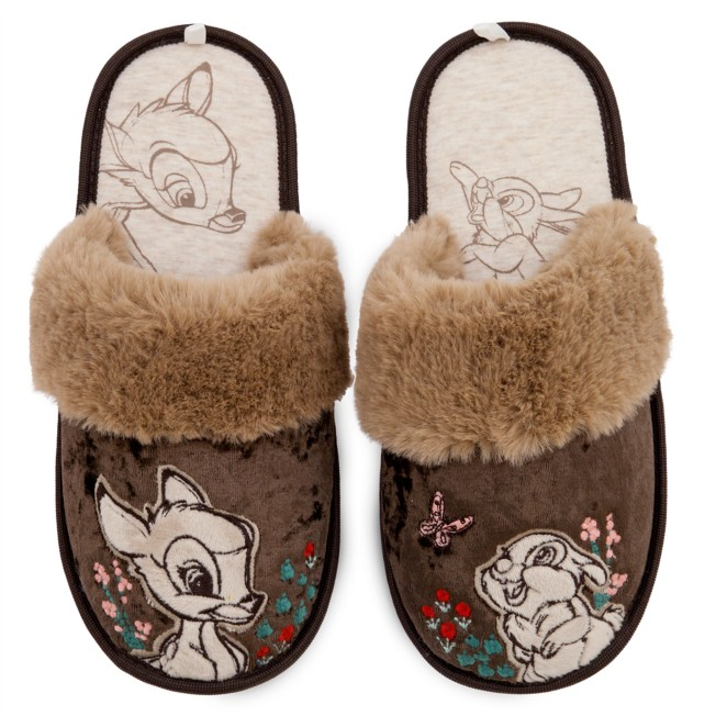 Bambi and Thumper Slippers for Adults