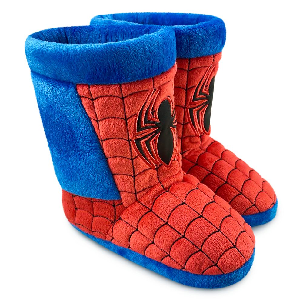 Spider-Man Boot Slippers for Kids