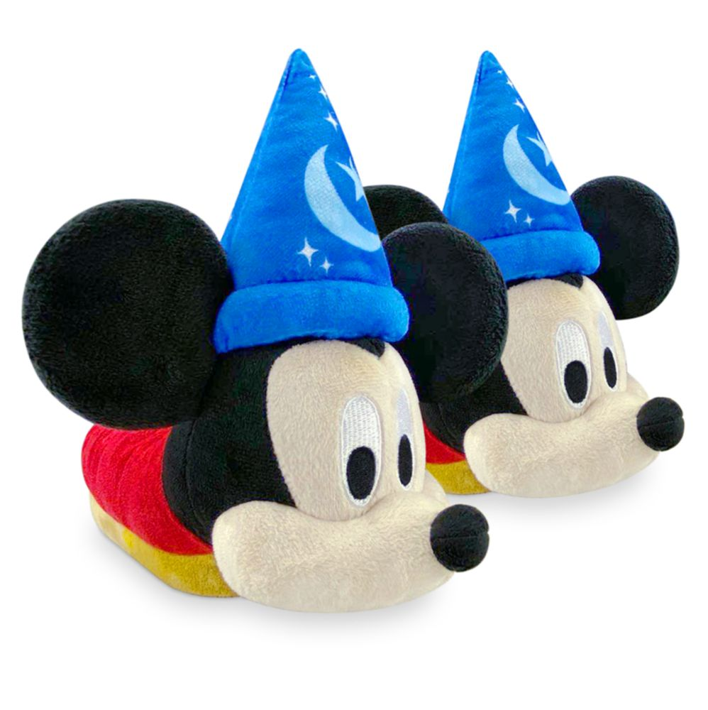 Sorcerer Mickey Mouse Slippers for Kids – Fantasia