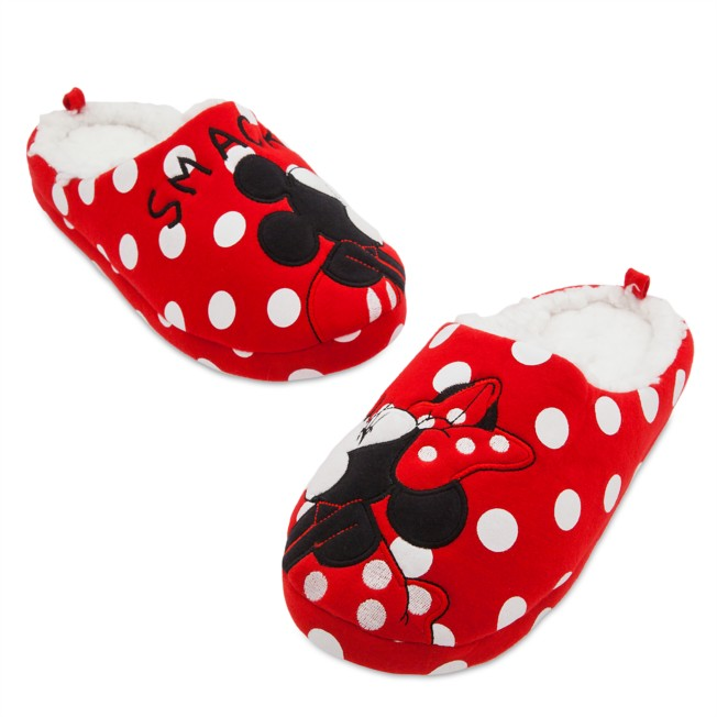Mickey and Minnie Mouse Slippers for Women