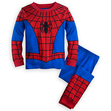 Spider-Man Costume PJ PALS for Boys