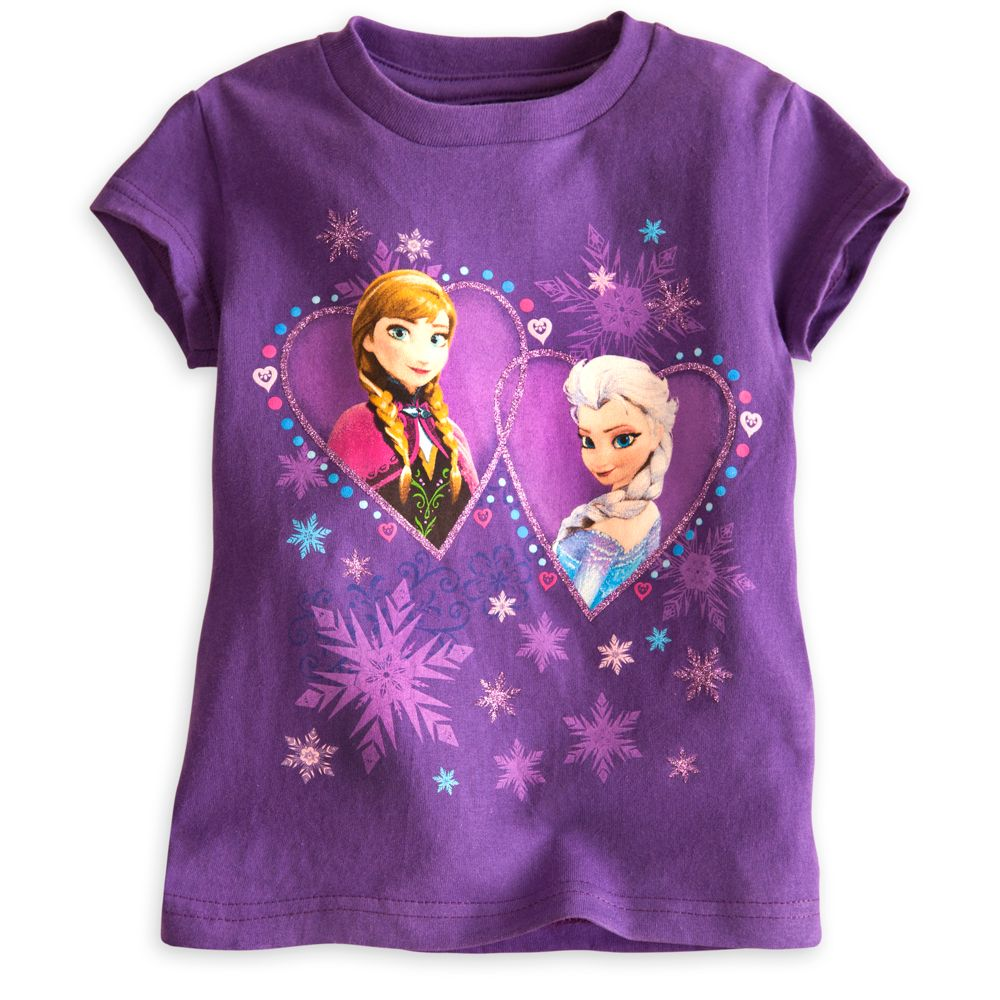 Anna and Elsa Tee for Girls – Frozen