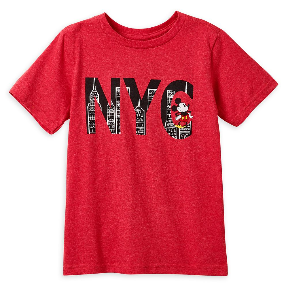 Mickey Mouse NYC T-Shirt for Boys – New York City