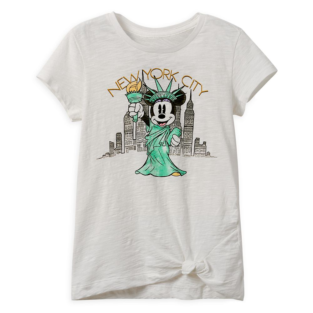Minnie Mouse Statue of Liberty T-Shirt for Girls – New York City
