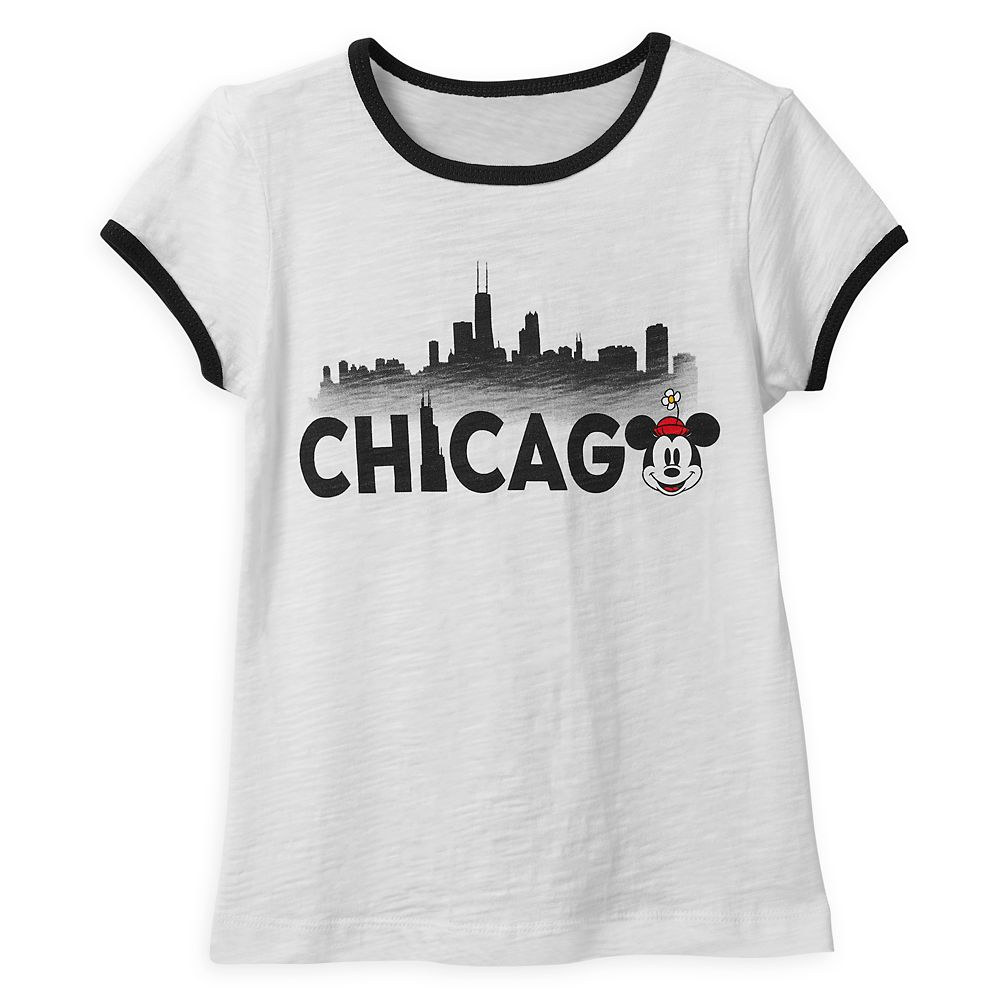 Minnie Mouse Chicago Ringer T-Shirt Shirt for Girls