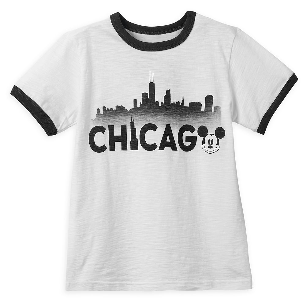 Mickey Mouse Chicago Ringer T-Shirt Shirt for Boys