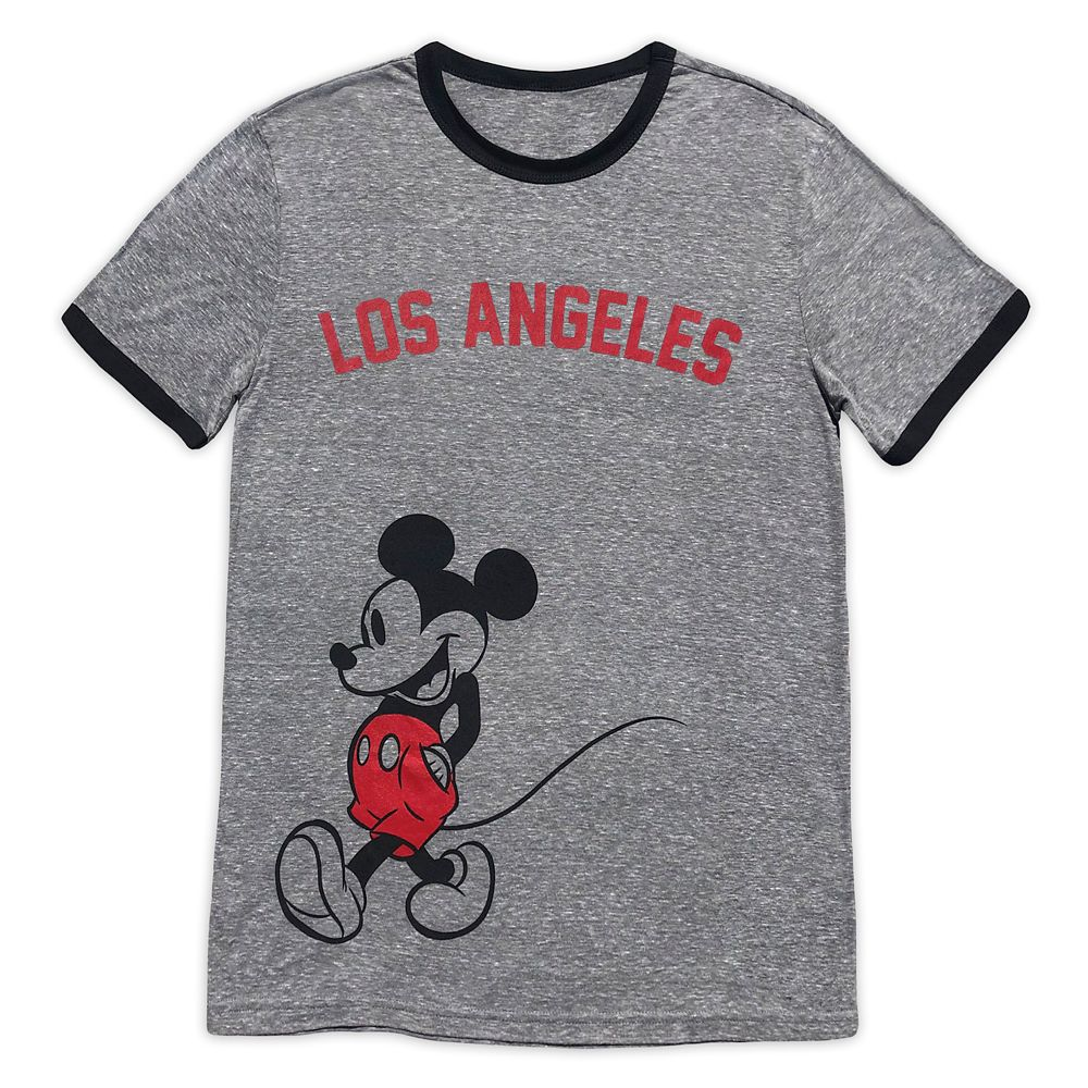 Mickey Mouse Ringer T-Shirt for Adults – Los Angeles