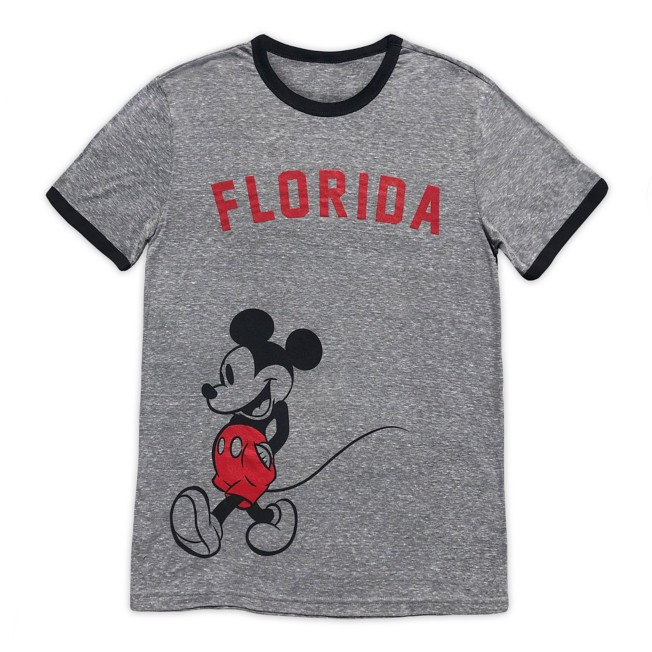 Mickey Mouse Ringer T-Shirt for Adults – Florida