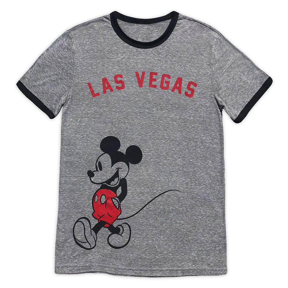 Mickey Mouse Ringer T-Shirt for Adults – Las Vegas