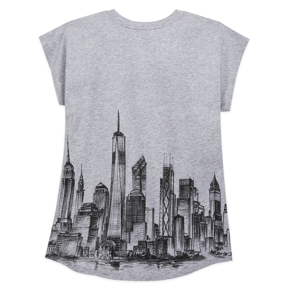 Minnie Mouse New York City Skyline T-Shirt for Women